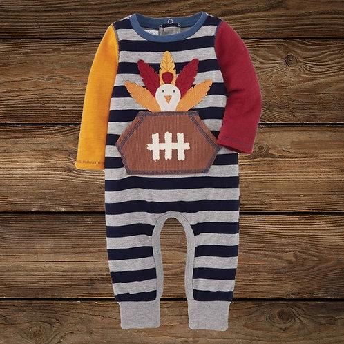 Football Turkey Baby Bodysuit