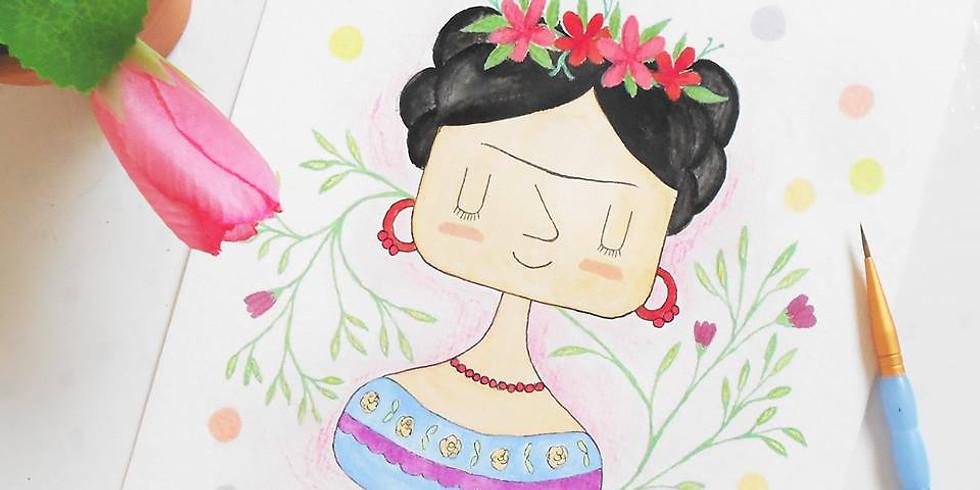 Workshop de aquarela na Casa Lume - Novembro