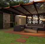 تنسيق كامل بأحدث التصاميم لحديقة منزلية