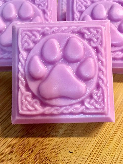 Paw Print Soap