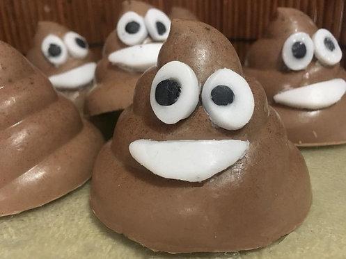 Poop Emoji Soap