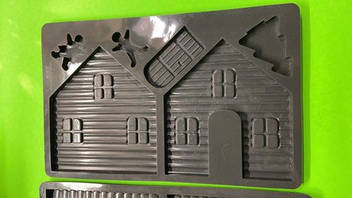 Gingerbread House mold