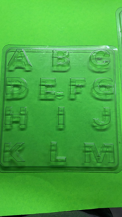 Alphabet mold