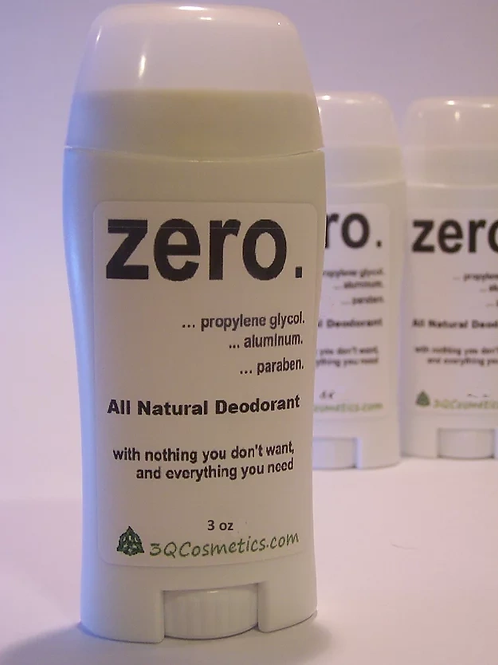 zero. Natural Deodorant  Regular size