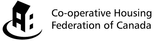 Co-operative Housing Federation of Canada logo.