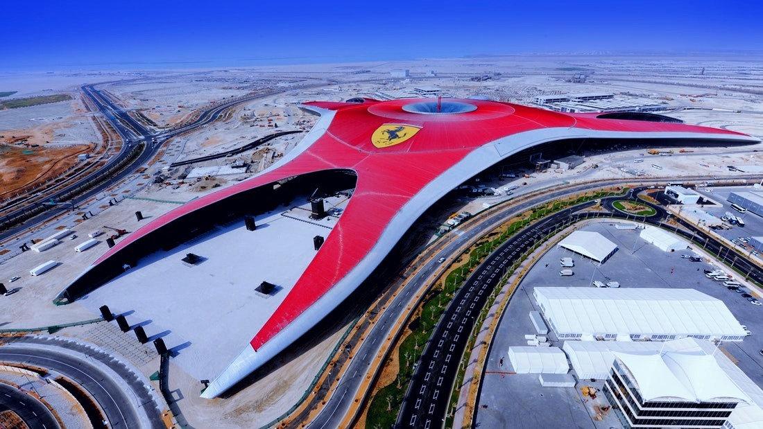 Ferrari Abu Dhabi tour