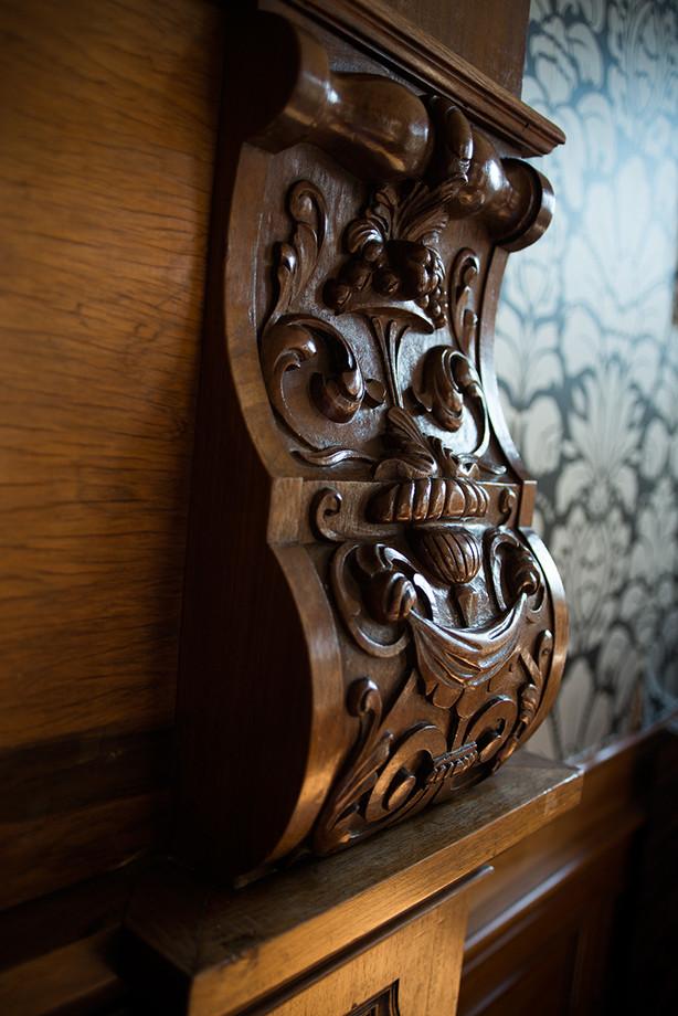 """Detail """"Villa de Berg"""""""