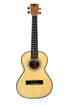 Kala Solid Spruce Top Striped Ebony Ukulele