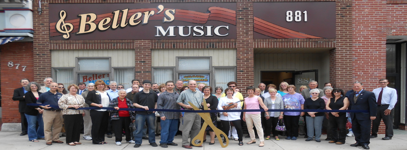 Bellers Music Ribbon Cutting