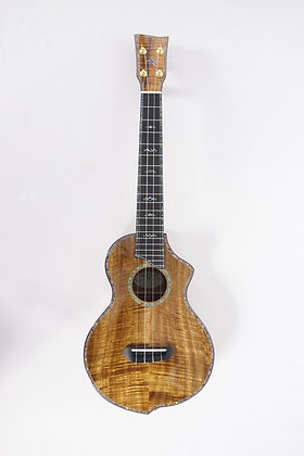 Naturel Ukulele Koa Tenor (w/ Electronics)