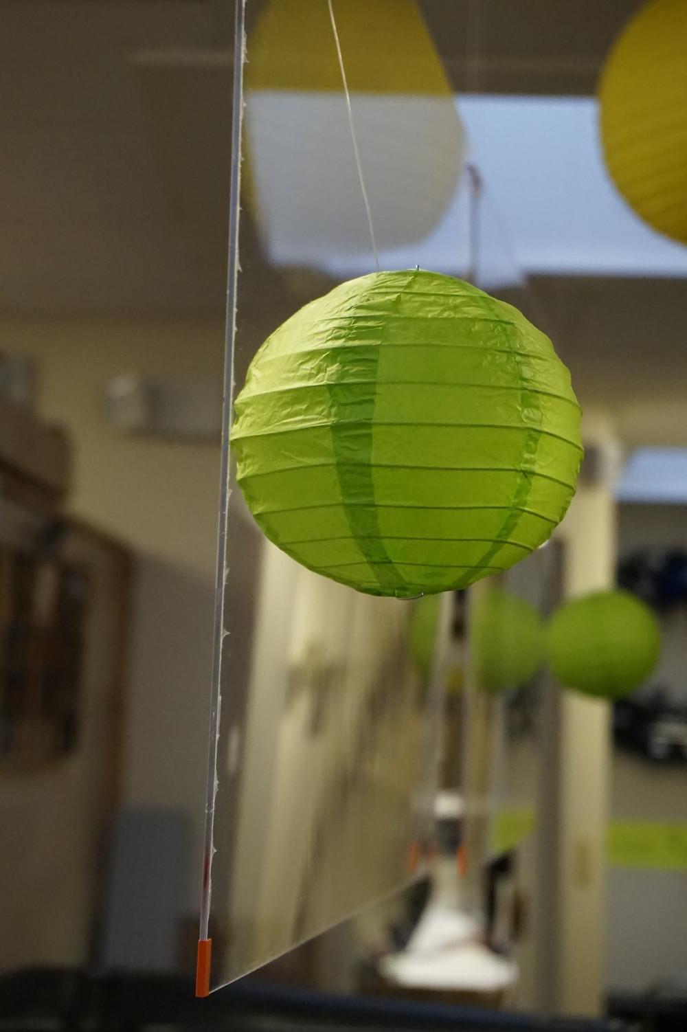 Plexiglass Shield, Green Lantern