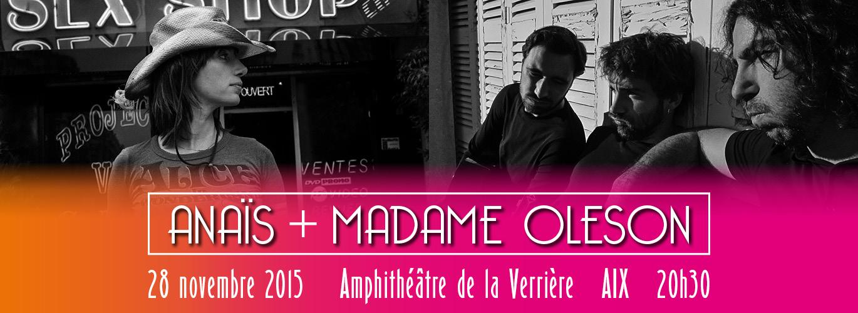 Concert Anaïs & Madame Oleson