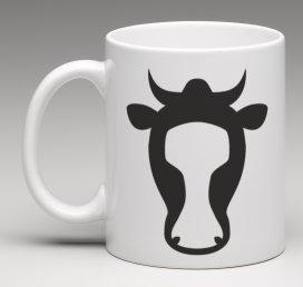 Mug le cow