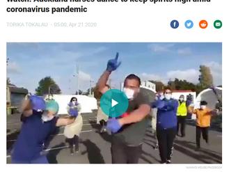 """Auckland nurses dance to keep spirits high amid coronavirus pandemic"""