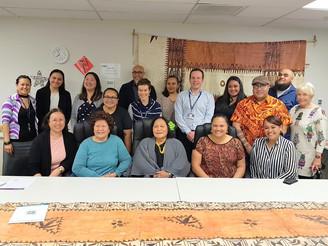 CMDHB & Pacific Peoples Health Advisory Group meet at AH+