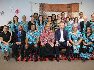 Talking Pacific priorities with the Hon Minister Aupito Su'a William Sio