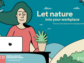 It's Mental Health Awareness Week - Let nature into your workplace!