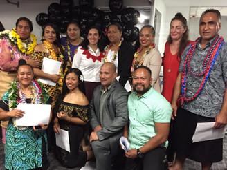 To'o Vaega Graduates NZIS Personal Trainer Level 4