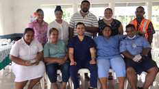 Support for Samoa during the measles epidemic
