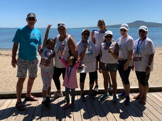 AH+ wrap up the 'Health Your Self' Wellbeing challenge by walking the talk at Round the Bays.