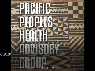 Pacific People's Health Advisory Group submits video to North American Research Conference