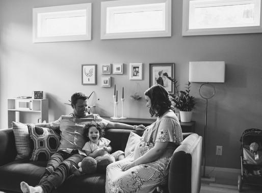 Ottawa family photographer | Maternity + Newborn in-home sessions