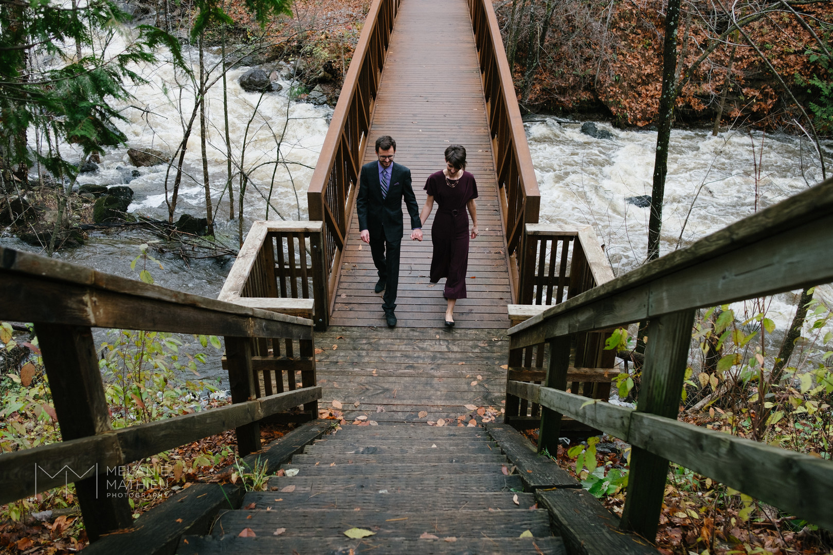 Gatineau park wedding photography