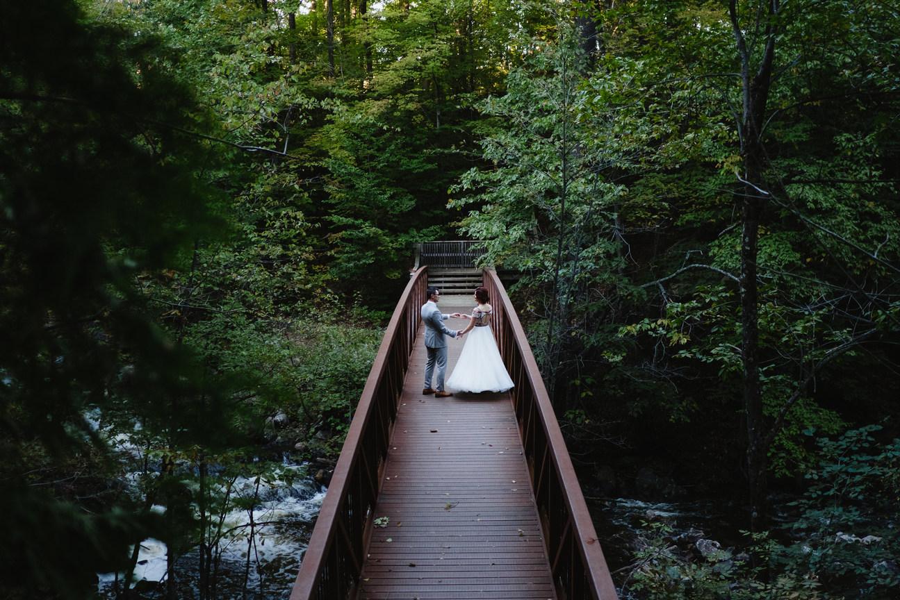 Gatineau park wedding photographer