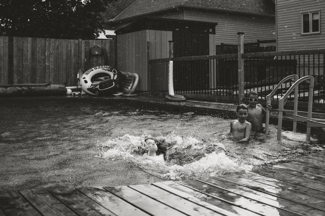 Week 5 - Swimming in the rain