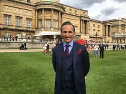 Simon at Buckingham Palace