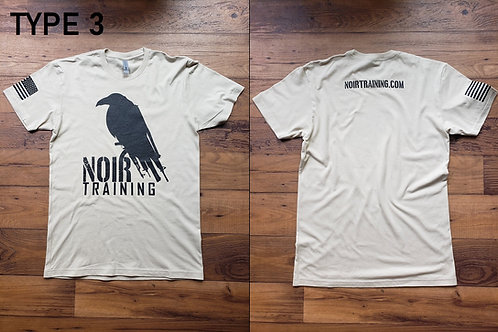 Noir Type 3 T-Shirt Gun Raven (Tan)
