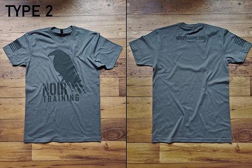 Noir Type 2  T-Shirt Gun Raven (Gray)