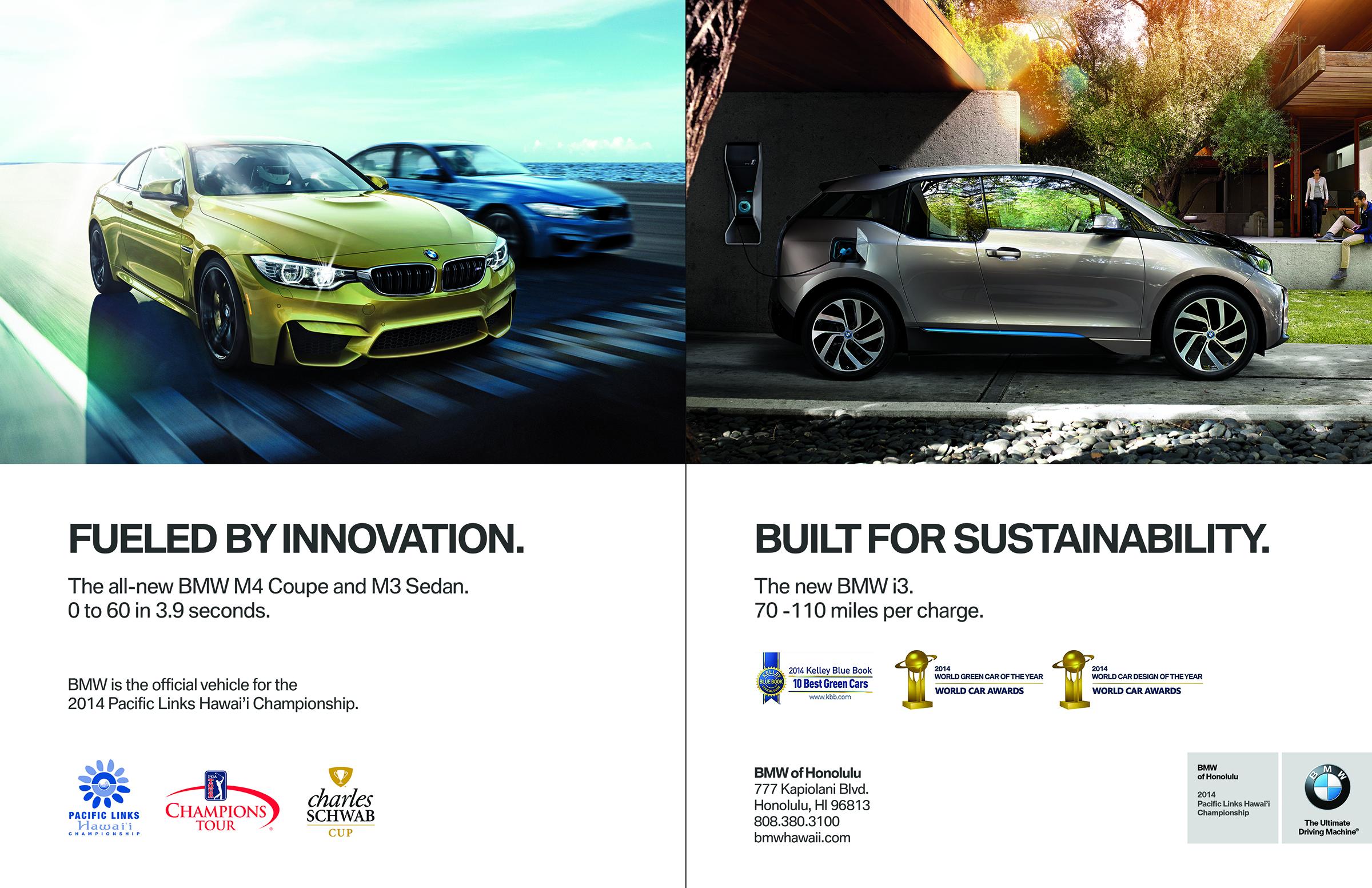 BMW of Honolulu - Magazine Spread