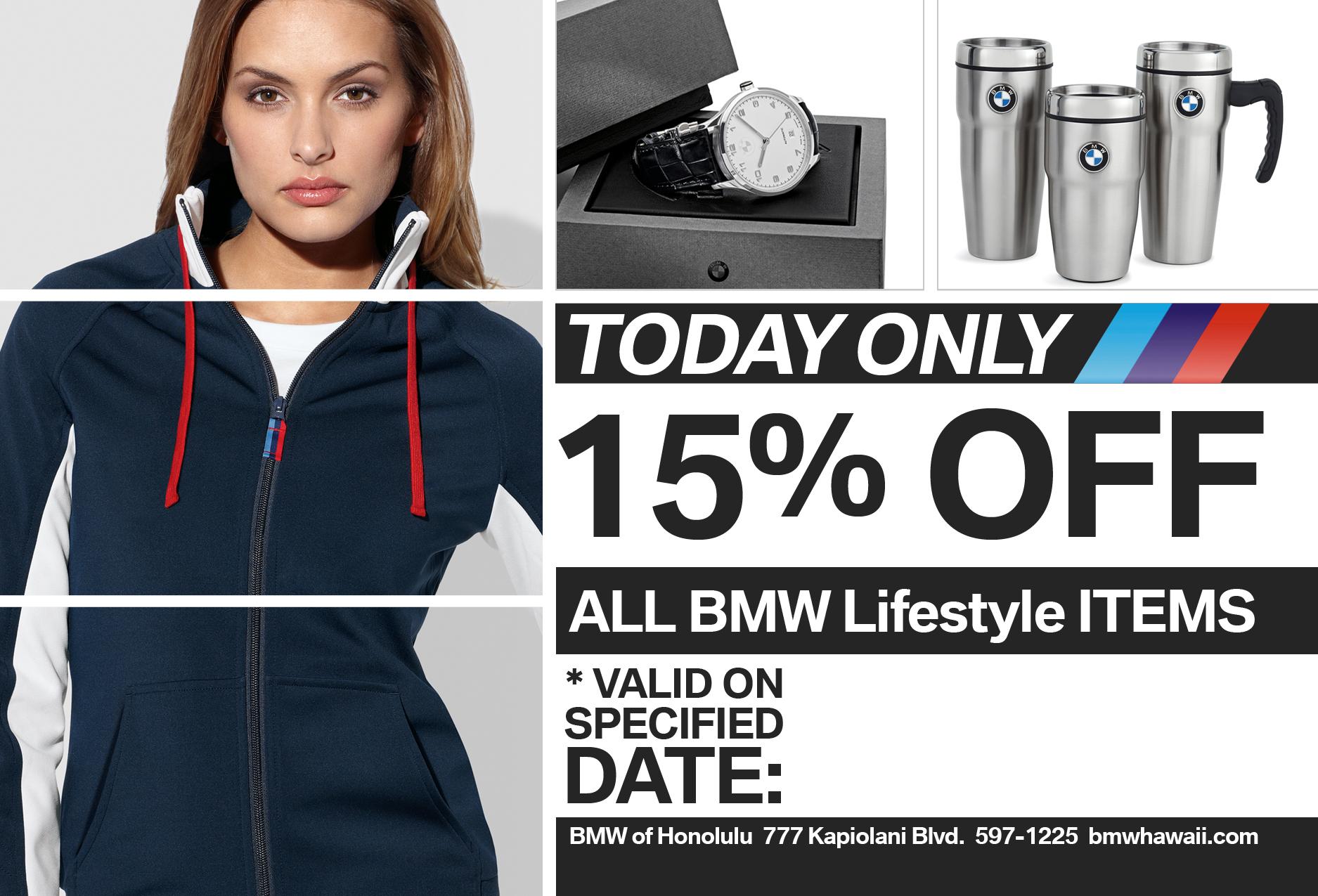 BMW of Honolulu - Discount Flyer