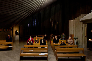 Sacra Famiglia's church, Salerno, Thursday 7:00 pm.