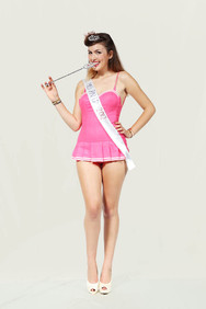 Beauty contest, Miss Pin Up 2012, Forlì, the winner.
