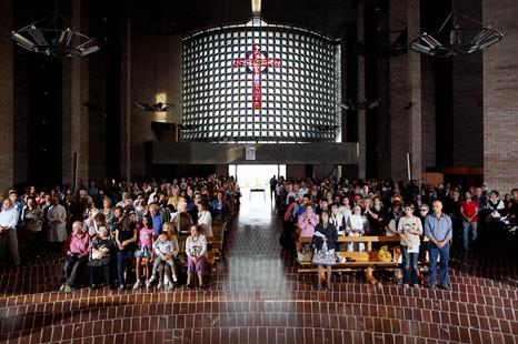 Amore Misericordioso's church, Collevalenza, Saturday, 17:37 pm.