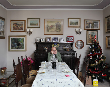 Sunday December 21, 2014 Florence. Lunch in private house.