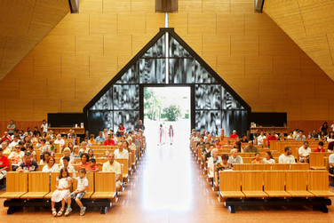 Santissimo Redentore's church, Seriate, Sunday 11:03 am.