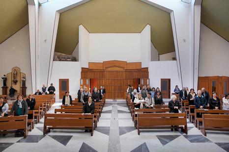 Santo Spirito's church, Napoli, Sunday 9:39 am.