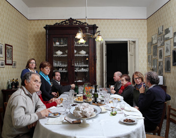Sunday December 14, 2014 Ruoti (Potenza). Lunch in private house.