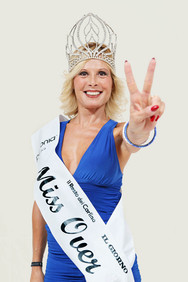 Beauty contest, Miss Over 2012, Pesaro, the winner.