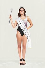 Beauty contest, Miss Terrona 2012, Savona, the winner.