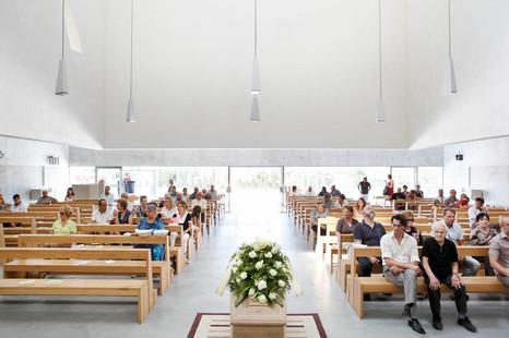 San Paolo's church, Foligno, Sunday 11:08 am.