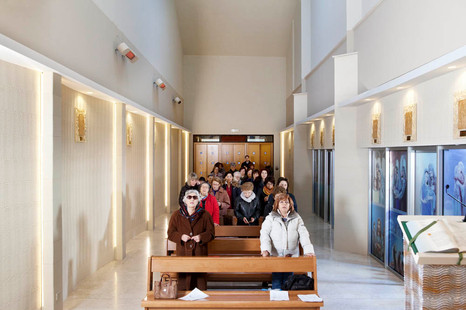 Santa Cecilia's Church, Potenza, Sunday 9:38 am.