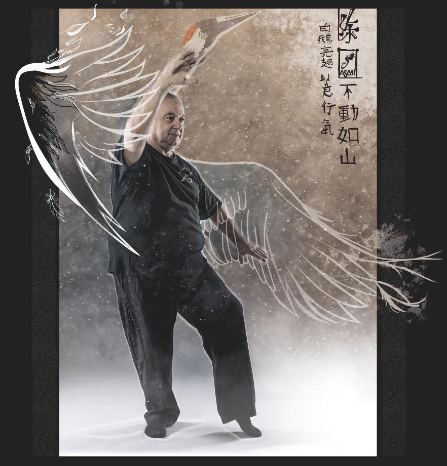 JC / La grue déploie ses ailes©