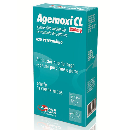 Agemoxi CL 250mg Antibiótico