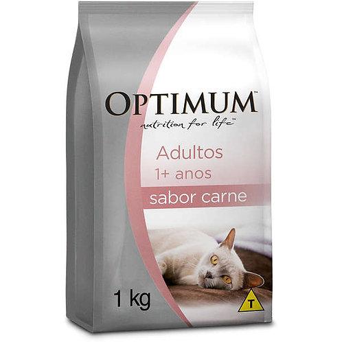 Optimum Gatos Adultos Carne 1kg