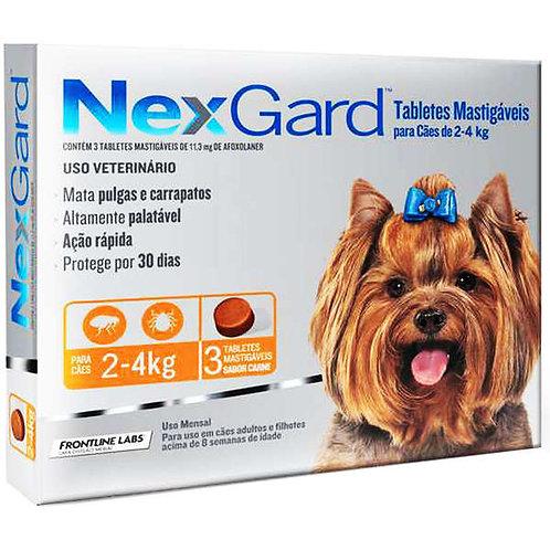 Nexgard para Cães de 2 a 4kg - 1 tablete