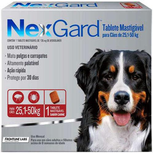 NexGard para Cães de 25,1 a 50 Kg - 1 Tablete